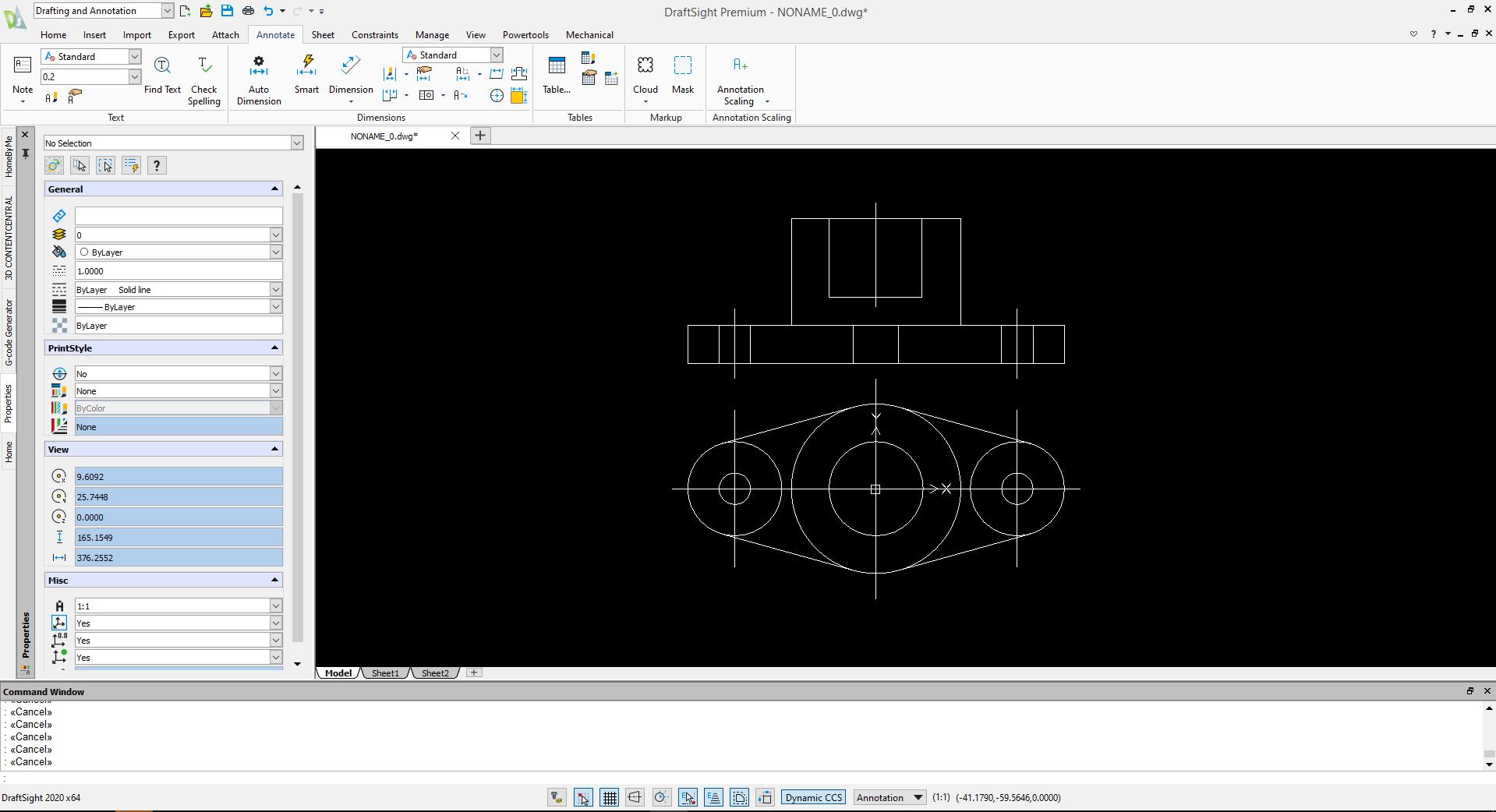"Introduction to Draft Sight – 3 ""DraftSight กับ SOLIDWORKS"""