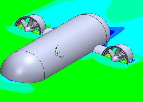 การวิเคราะห์ ไปพร้อม ๆ กันระหว่าง Flow Simulation และ SOLIDWORKS Simulation