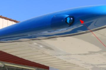 การสร้างชิ้นงานปลายปีกของเครื่องบิน