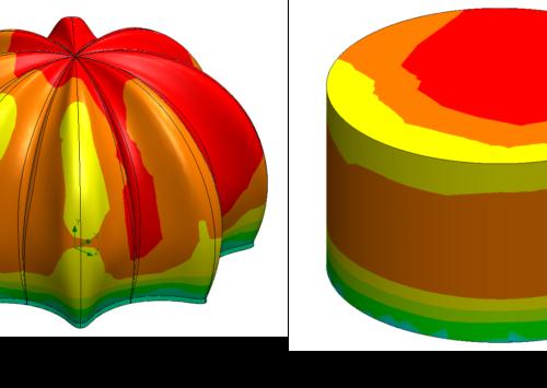 การระบายบความร้อนของต้นแคคตัสโดย SOLIDWORKS Simulation